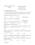 9 Đề kiểm tra HK2 môn Toán lớp 9