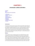 Chương 1 Giới thiệu về vi điều khiển