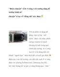 """""""Buôn chuyện"""" về lò vi sóng vs lò nướng dùng để nướng bánh nè!"""