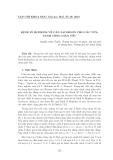 """Báo cáo nghiên cứu khoa học: """"Định lý Hopkins về căn Jacobson cho các nữa vành cộng giản ước"""""""