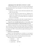 Bài giảng chế biến khí : TỔNG HỢP TRÊN CƠ SỞ OXYT CACBON part 1