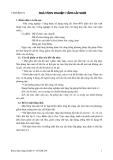 Kết cấu bê tông cốt thép : NHÀ CÔNG NGHIỆP 1 TẦNG LẮP GHÉP part 1