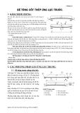 Kết cấu bê tông cốt thép : BÊ TÔNG CỐT THÉP ỨNG LỰC TRƯỚC part 1