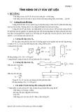 Kết cấu bê tông cốt thép : TÍNH NĂNG CƠ LÝ CỦA VẬT LIỆU part 1