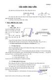 Kết cấu bê tông cốt thép : CẤU KIỆN CHỊU UỐN part 1