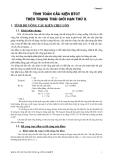 Kết cấu bê tông cốt thép : TÍNH TOÁN CẤU KIỆN BÊ TÔNG CỐT THÉP THEO TRẠNG THÁI GIỚI HẠN THỨ II part 1