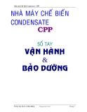 Sổ tay Vận hành và Bảo dưỡng : Nhà máy Chế biến Condensate - CPP part 1