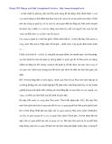 Quản lý Nhà Nước trong đầu tư trực tiếp nước ngoài vào dệt may Việt Nam - 2