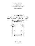 Lý thuyết ngôn ngữ hình thức và ôtômát - Chương mở đầu