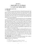 Lý thuyết ngôn ngữ hình thức và ôtômát - Chương 1