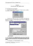 Xây dựng bản đồ số hoá với MapInfo 6.0 - Chương 2