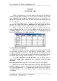 Xây dựng bản đồ số hoá với MapInfo 6.0 - Chương 3