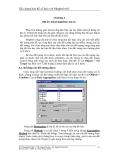 Xây dựng bản đồ số hoá với MapInfo 6.0 - Chương 4
