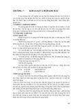 Vật liệu kỹ thuật - Phần 2 Các loại vật liệu kỹ thuật thông dụng - Chương 7