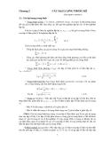 Sai số trong hóa học phân tích - Chương 2