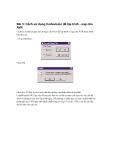 Thực hành vi điều khiển AVR - Bài 3