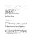 Thực hành vi điều khiển AVR - Bài 4