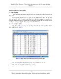 Thực hành xây dựng cơ sở dữ liệu quan hệ bằng Access - Bài 2