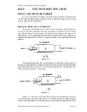 Thí nghiệm lỹ thuật điện - Bài 3