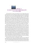 Thời tiết và khí hậu - Phần 5 Hoạt động con người - Chương 14