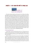 Thời tiết và khí hậu - Phần 7 Các chuyên đề và phụ lục - Chương 17