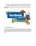 5 Công cụ miễn phí giúp bạn tải ảnh lên Facebook