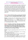 70 BÀI TOÁN CHỌN LỌC phần 4