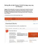 Hướng dẫn cài đặt Ubuntu 11.04 để sử dụng song song với Windows