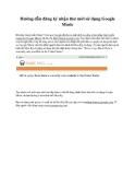 Hướng dẫn đăng ký nhận thư mời sử dụng Google Music