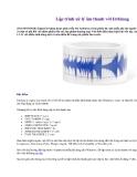 Lập trình xử lý âm thanh với Irrklang