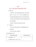 Giáo án lớp 4: Toán: BẢNG ĐƠN VỊ ĐO KHỐI LƯỢNG