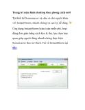 Cách trang trí màn hình desktop theo phong cách mới