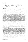Chương 3 Động học sinh trưởng của tế bào