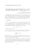 """Báo cáo nghiên cứu khoa học: """" Chặn trên Segre cho chỉ số chính quy của s+2 điểm béo không nằm trên một (s-1) phẳng trong P n , s"""