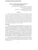 """Báo cáo nghiên cứu khoa học: """"   NGHIÊN CỨU TỔNG HỢP VẬT LIỆU RÂY PHÂN TỬ MAO QUẢN TRUNG BÌNH SBA-16"""""""