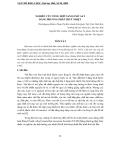 """Báo cáo nghiên cứu khoa học: """"  NGHIÊN CỨU TỔNG HỢP NANO OXIT SẮT BẰNG PHƯƠNG PHÁP THUỶ NHIỆT"""""""