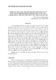 """Báo cáo nghiên cứu khoa học: """" NGHIÊN CỨU KHẢ NĂNG THAY THẾ MỘT PHẦN PHÂN ĐẠM VÔ CƠ BẰNG MỘT SỐ CHẾ PHẨM (PHÂN) SINH HỌC CHO CÂY DƯA LEO (Cucumis sativus L.) TRÊN ĐẤT THỊT NHẸ VỤ XUÂN 2009 TẠI QUẢNG TRỊ"""""""