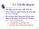 Giáo trình hướng dẫn phân tích cấu tạo cơ cấu cân bằng lực tác dụng với vận tốc chuyển động p7