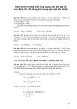Giáo trình hướng dẫn ứng dụng các bài tập về xác định tốc độ dòng hơi trong áp suất tỏa nhiệt p1