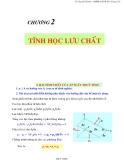 Chương 2 : tĩnh học lưu chất - Ts Nguyễn Thị Bảy