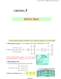 Chương 3 : đông học - Ts Nguyễn Thị Bảy