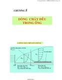 Chương 5 : Dòng chảy đều trong ống - Ts Nguyễn Thị Bảy