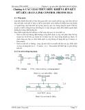 Bài giảng thông tin dữ liệu và mạng máy tính - Chương 4