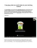 5 ứng dụng chỉnh sửa ảnh tốt dành cho máy tính bảng Android