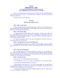 LUẬT BÌNH ĐẲNG GIỚI CỦA QUỐC HỘI KHÓA XI, KỲ HỌP THỨ 10 SỐ 73/2006/QH11 NGÀY 29 tháng 11 năm 2006