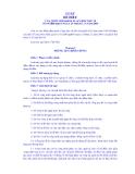 LUẬT ĐÊ ĐIỀU CỦA QUỐC HỘI KHOÁ XI, KỲ HỌP THỨ 10 SỐ 79/2006/QH11 NGÀY 29  THÁNG 11 năm 2006