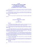 LUẬT SỬA ĐỔI, BỔ SUNG MỘT SỐ ĐIỀU CỦA BỘ LUẬT LAO ĐỘNG VỀ GIẢI QUYẾT TRANH CHẤP LAO ĐỘNG  CỦA QUỐC HỘI