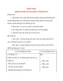 Giáo án lớp 4: KHOA HỌC KHÔNG KHÍ CHUYỂN ĐỘNG THÀNH GIÓ