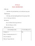 Giáo án lớp 4: MĨ THUẬT TRANG TRÍ HÌNH TRÒN