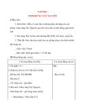 Giáo án lớp 4: TẬP ĐỌC CHIM RỪNG TÂY NGUYÊN